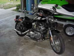 2003 Harley Davidson XLH 883 Sportster Hugger