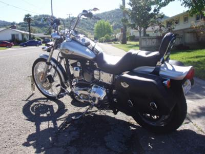 2003 Harley Dyna Wide Glide 100 Year Anniversary Edition Screaming Eagle II Exhaust Pipes
