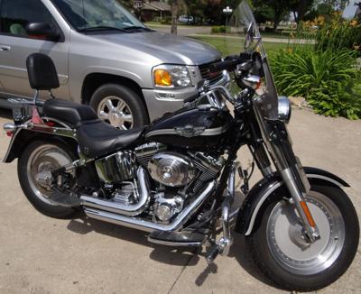 2003 Harley Davidson Fatboy 100th Anniversary Edition