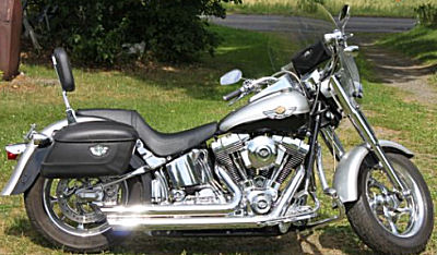 2003 Harley Davidson Fatboy Fat Boy Motorcycle