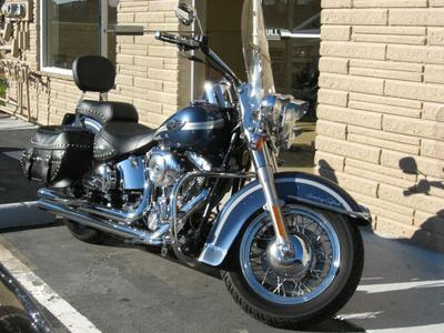 2003 Harley Davidson Softail Heritage (this photo is for example only; please contact seller for pics of the actual motorcycle for sale in this classified)