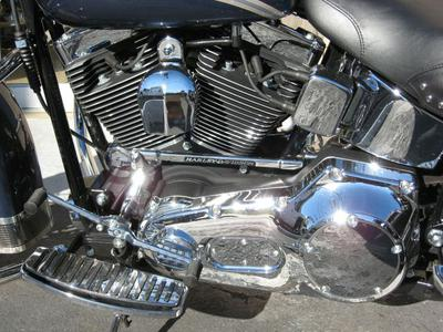 2003 Harley Davidson Softail Heritage (this photo is for example only; please contact seller for pics of the actual motorcycle for sale in this classified
