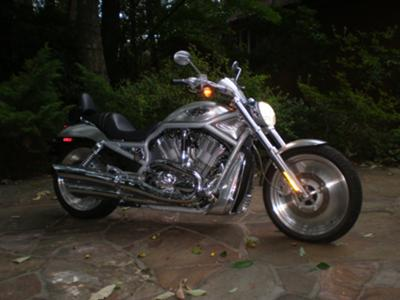 2003 Harley Davidson VROD 100 Year Anniversary Edition with Stainless fuel tank