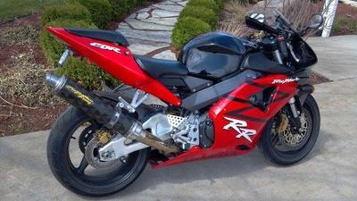 2003 Honda CBR954rr Fireblade with Racing Exhaust