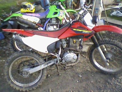 2003 HONDA CRF