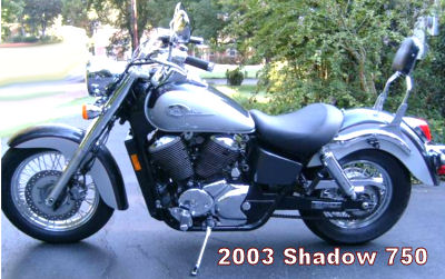 2003 Honda Shadow 750