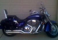 2003 honda vtx 1800r illusion blue accessories