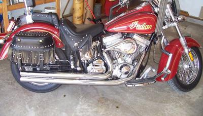 2003 Indian Spirit Springfield Edition Motorcycle