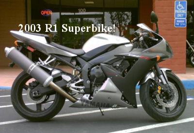 2003 Yamaha R1 Superbike