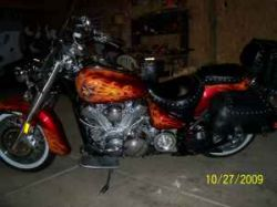 2003 Yamaha Roadstar 1600 Road Star (this photo is for example only; please contact seller for pics of the actual motorcycle for sale in this classified)