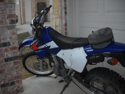 2003 Suzuki DRZ 400s Dirt Bike only 3600 miles