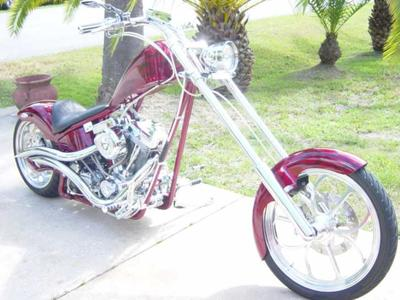 2003 Ultra Cycle Chopper 250ST Chopper  w Adjustable Air Ride  $15,000