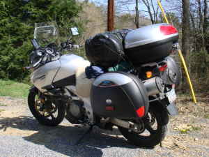 2003 Suzuki V Strom DL 1000 (not the one for sale in this ad)