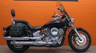 2003 Yamaha XVS1100A V Star Vstar Classic w black paint color option