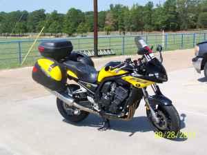 2003 Yamaha FZ1 Yellow and Black