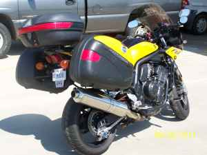 2003 Yamaha FZ1 Yellow and Black