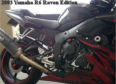 2003 Yamaha R6 Raven Edition