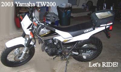 2003 YAMAHA TW200 Dirt Trail Bike