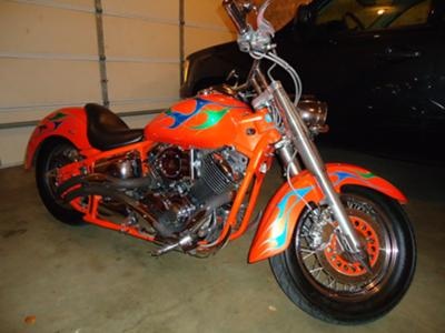 2003 Yamaha V-Star 1100 Super Custom
