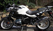 2004 BMW R1150R black and white rockster anniversary edition model