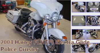 2004 Harley FLHTPI Electra Glide Police Cruiser