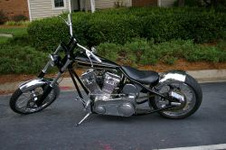 2004 Custom Built Harmonic Distortion Motorcycle by Jerry Swanson