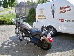 2004 Harley Davidson 1200 custom motorcycle