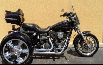 2004 Harley Davidson FXDX Dyna Super Glide Trike w Vivid Black Paint Color