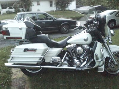 Pearl White 2004 Harley Davidson Ultra Classic w Screaming Eagle Stage One