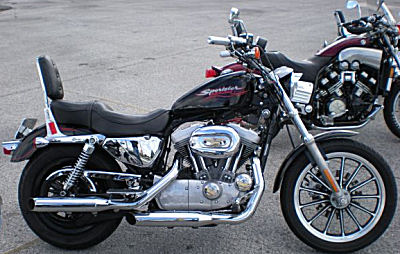 2004 harley davidson xl 883 sportster for sale. Black Bedroom Furniture Sets. Home Design Ideas
