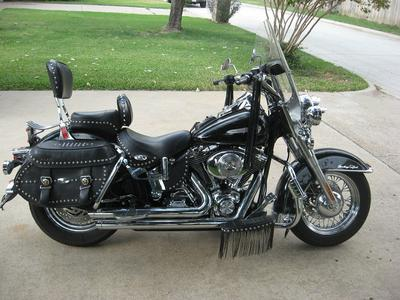 2004 Harley Heritage Softail Classic (this photo is for example only; please contact seller for pics of the actual motorcycle for sale in this classified)