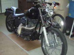 Black 2004 Harley Davidson Night Train