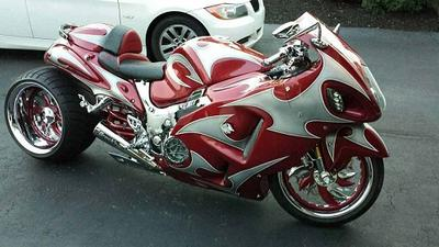 Custom 2004 Suzuki Hayabusa GSXR1300 for Sale