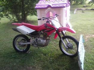 2004 Honda CRF 80 80cc Dirt Bike (this photo is for example only; please contact seller for pics of the actual motorcycle for sale in this classified)