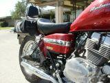 2004 Honda Rebel with windshield attached to front forks.