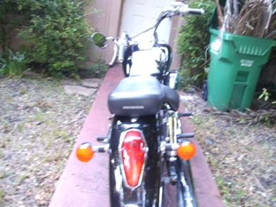2004 Honda Shadow 750 Aero