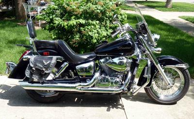 2004 honda shadow aero 750 for sale. Black Bedroom Furniture Sets. Home Design Ideas