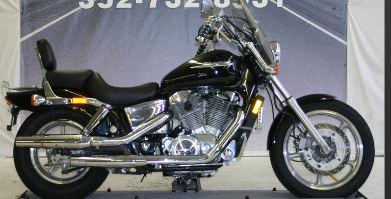 2004 Honda Shadow Spirit 1100 with black paint color option