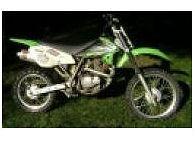 2004 Kawasaki, KLX 125 4 stroke dirt bike with Big Gun Exhaust System