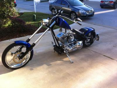 2004 Custom Motor Works Pro Street Chopper performance (example only; please contact seller for pics)