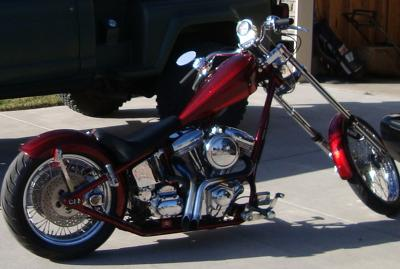 2004 Sain Custom Chopper w Custom Paint