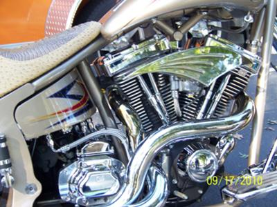 CUSTOM 2004 SPECIAL CONSTRUCTION MOTORCYCLE ENGINE