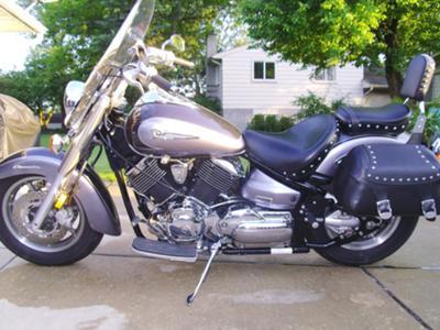 2004 V Star Silverado 1100 CC