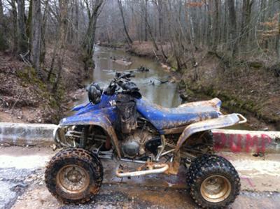 2004 Yamaha Warrior Quad incl. Mud