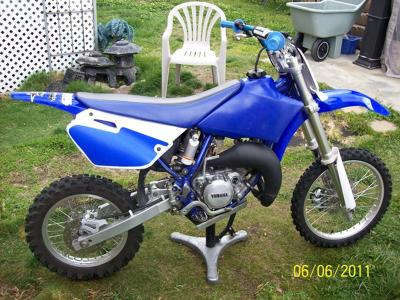 2004 Yamaha YZ85 YZ 85 dirt bike