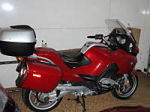 2005 BMW R1200RT red