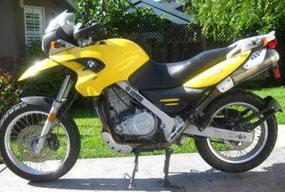 2005 BMW F650GS (this photo is for example only; please contact seller for pics of the actual motorcycle for sale in this classified)
