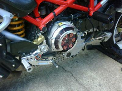 2005 Ducati Monster S4R Engine