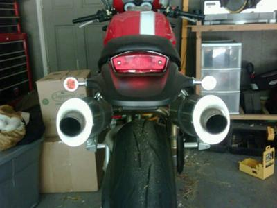 2005 Ducati Monster S4R Exhaust