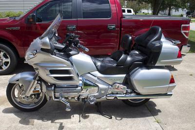 2005 Honda GoldWing 30th Anniversary Edition Silver